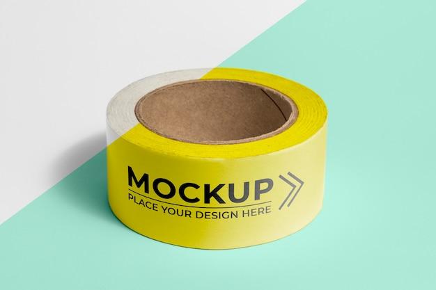 Verpakkingstape mock-up assortiment