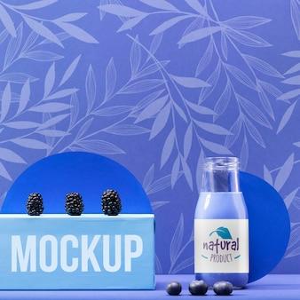 Vers fruit smoothie mock-up