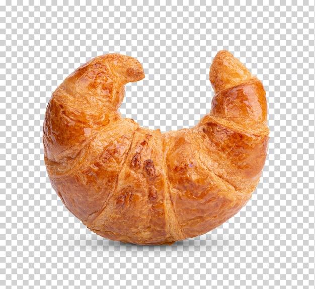 Vers gebakken geïsoleerde croissant