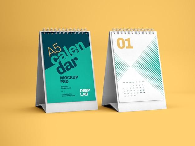 Verticaal bureaukalendermodel
