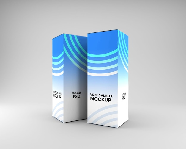 Verticale doosverpakkingsmodel