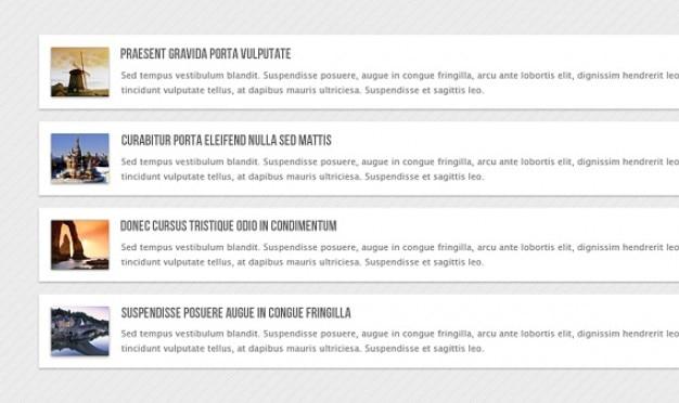Verticale nieuws carrousel html
