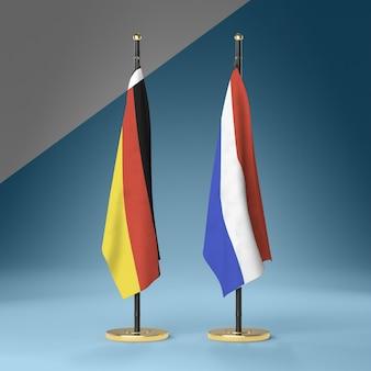 Verzameling vlaggen