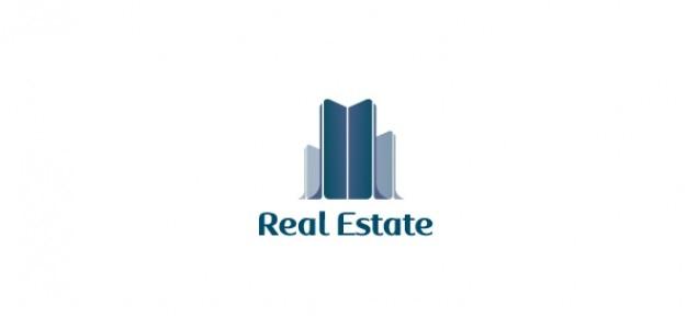 Vettore gratis logo per il settore immobiliare