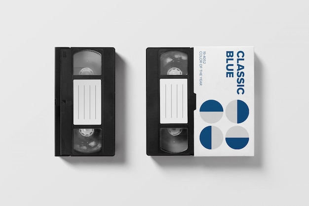 Vhs mockup-collectie
