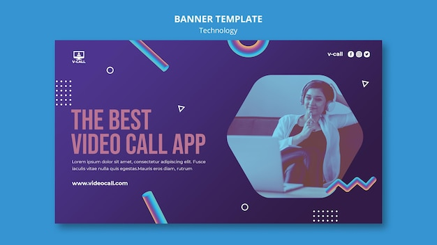 Video-oproep app-bannermalplaatje