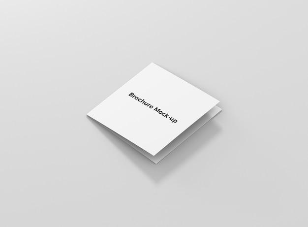 Vierkant brochuremodel