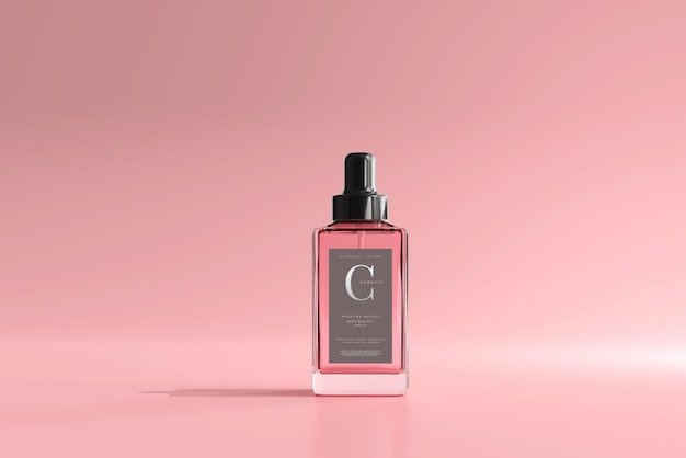 Vierkant parfumflesmodel