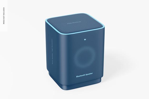 Vierkante bluetooth-luidsprekermodel, vooraanzicht