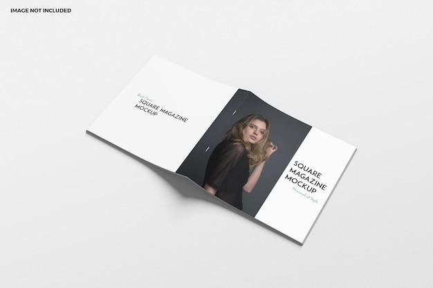 Vierkante brochure en catalogusmodel