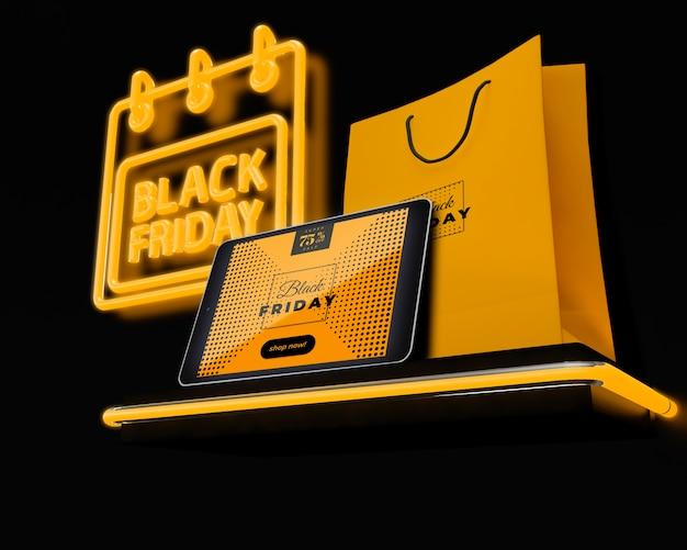 Viernes negro con promociones especiales.