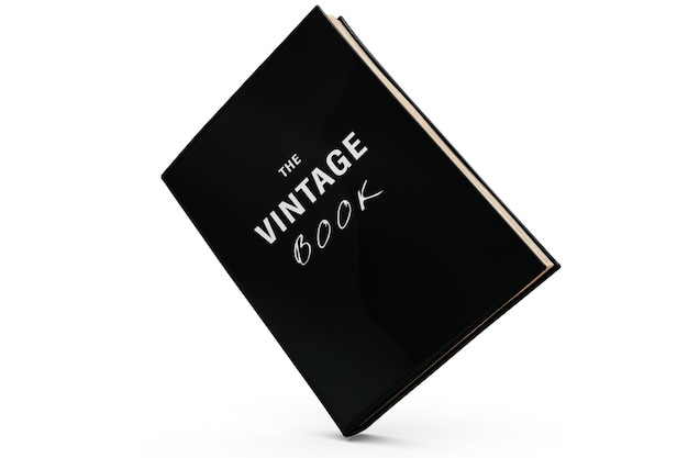 Vintage book mock-up