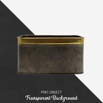 Vintage doos op transparant