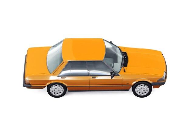 Vintage sedan auto 1982