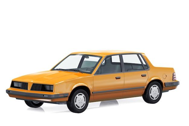 Vintage sedan auto 1983