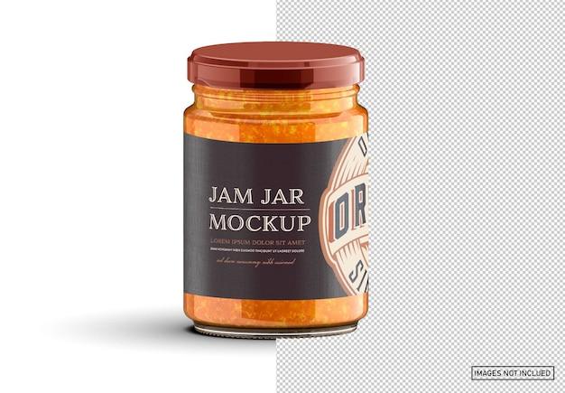 Vintage-stijl jam label layout