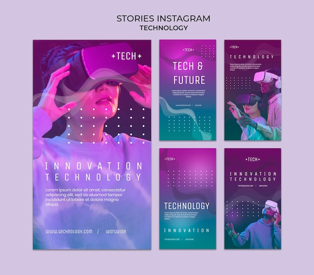 Virtual reality bril instagram-verhalen