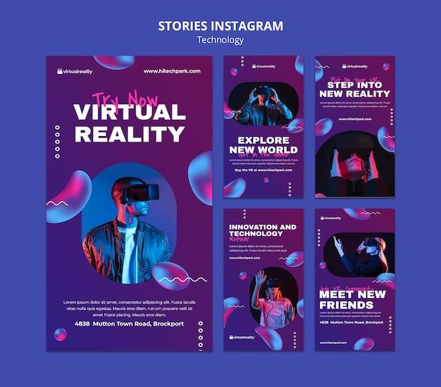 Virtual reality instagram-verhalen