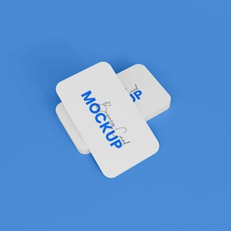 Visitekaartje mockup design branding mockup