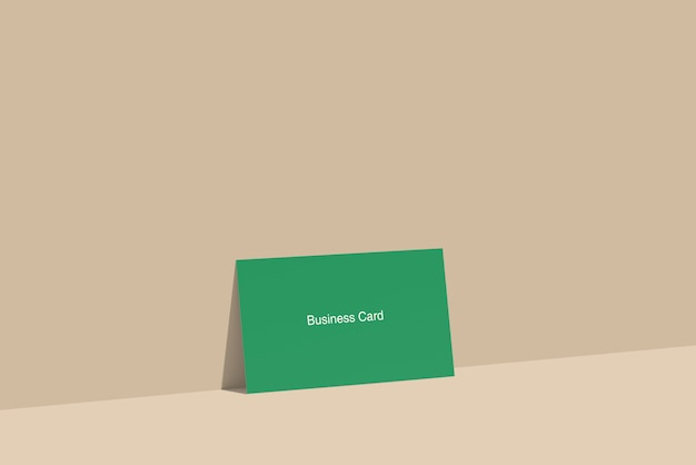 Visitekaartje mockup
