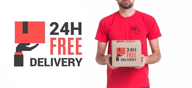 Vista media di consegna non-stop gratuita