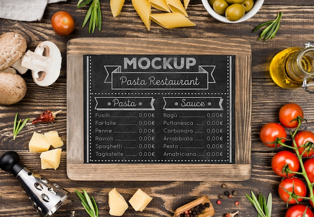 Vista superior arreglo de verduras saludables