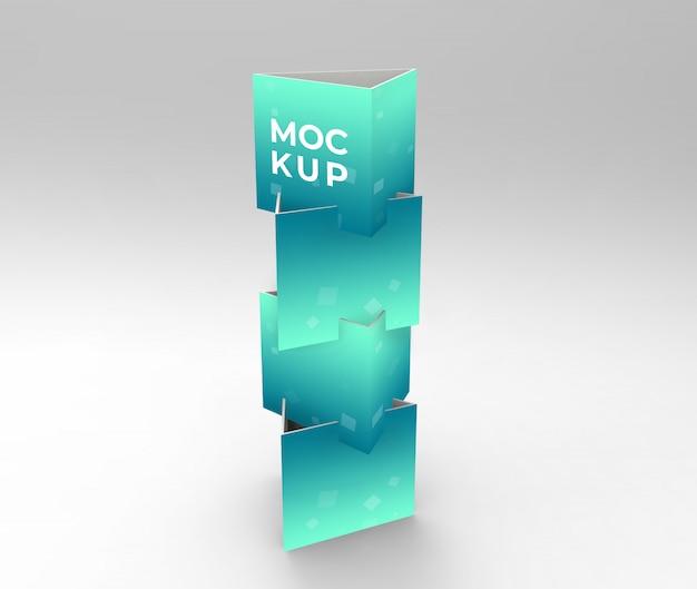 Visualizza espositore cubo