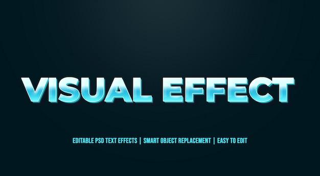 Visueel effect - oude vintage teksteffecten