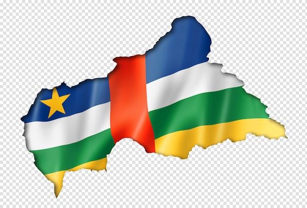 Vlag van de centraal-afrikaanse republiek