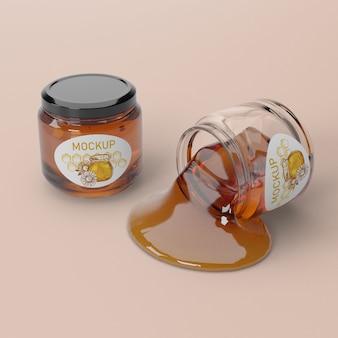 Vloeibaar honingproduct