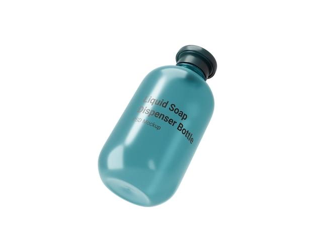 Vloeibare zeep dispenser fles mocku