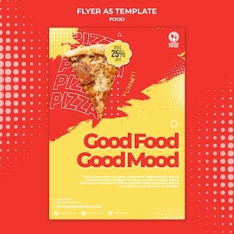 Voedsel folder sjabloon