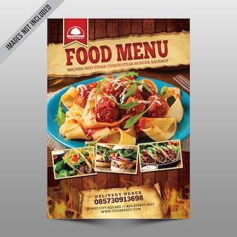 Voedsel menu
