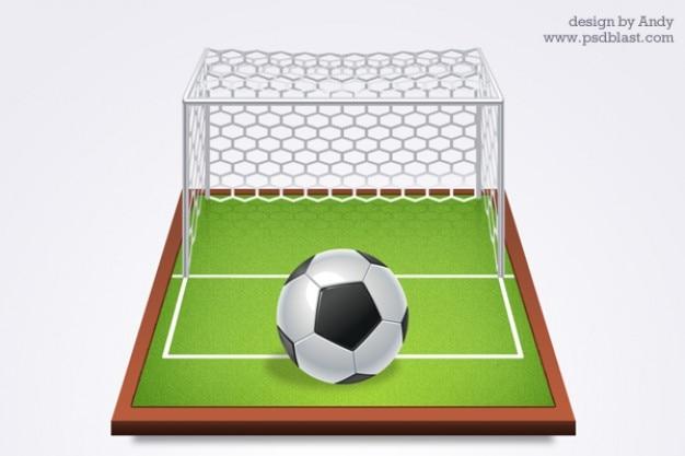 Voetbal grafische