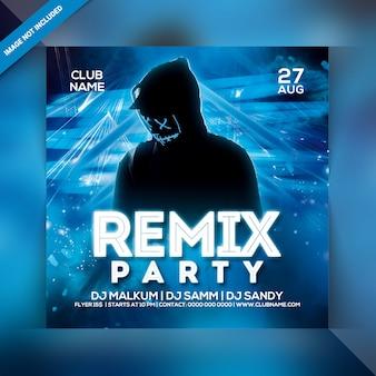 Volantino festa remix
