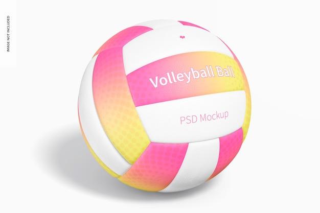 Volleybalspel balmodel, vooraanzicht