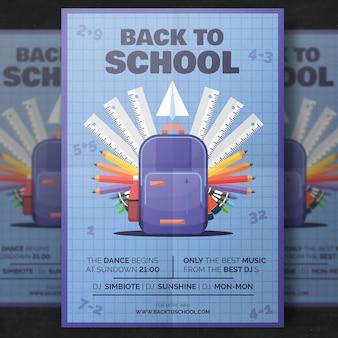 Volver a la plantilla de folleto de la escuela