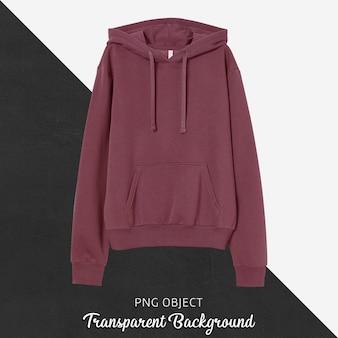 Vooraanzicht van basic unisex hoodie-mockup