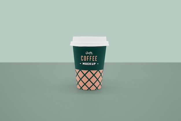Voorkant koffiekopje mockup