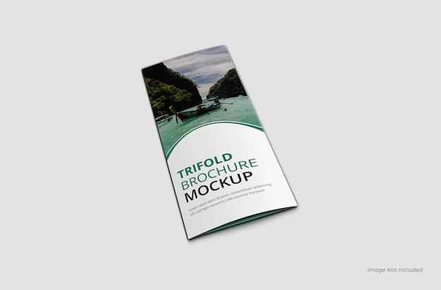 Voorpagina driebladige brochure