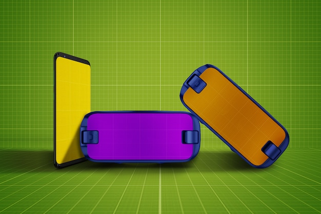 Vr-bril en tabletmodel
