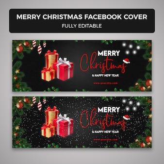 Vrolijk kerstfeest facebook cover s
