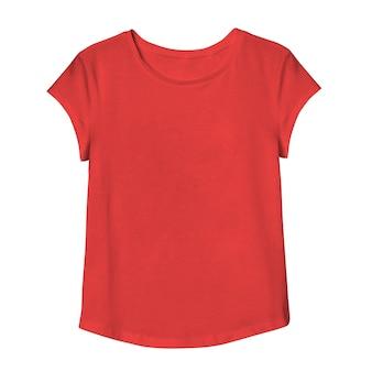 Vrouw mockup tshirt