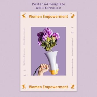 Vrouwen empowerment poster