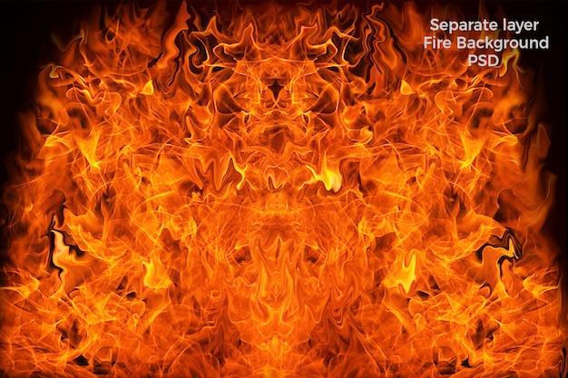 Vuur achtergrond