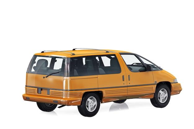 Wagon combi auto 1989 mockup