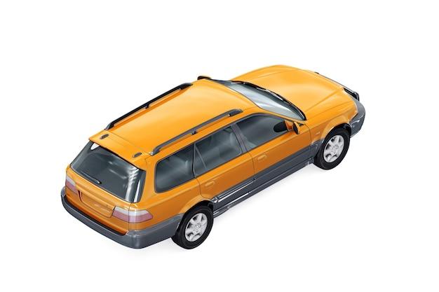 Wagon combi auto 1996 mockup