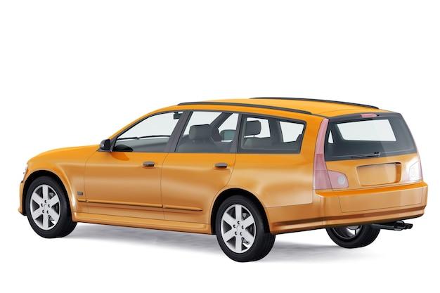 Wagon combi auto 2001 mockup