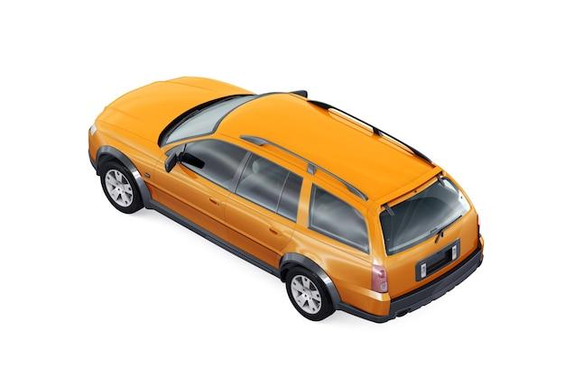 Wagon combi auto 2005 mockup