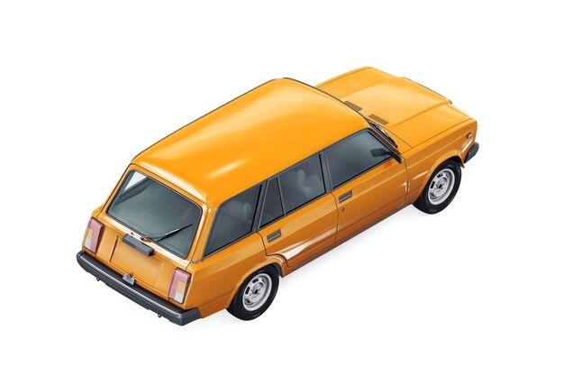 Wagon combi auto 2006 mockup